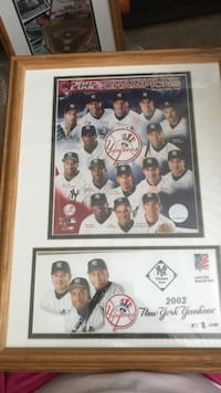 The New York Yankees players with first day issue  Rio Rancho, 87124