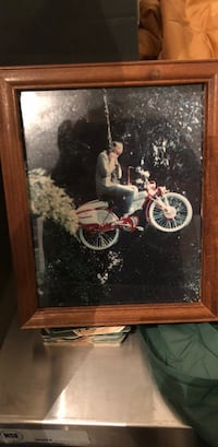 brown wooden framed painting of woman Noblesville, 46060
