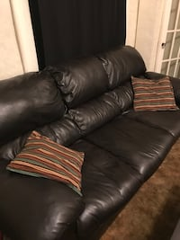Leather Couch Jackson, 45640