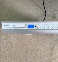 Audiovox  Under cabinet audio/ cd player. Franklin Township