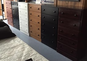 5 Drawer Chest - Choice of Color Finishes