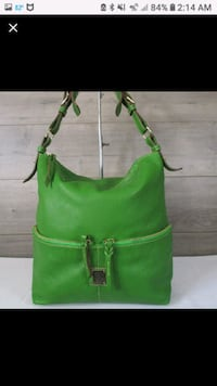 LRG DOONEY AND BOURKE SATCHEL  GREEN Smithsburg, 21783