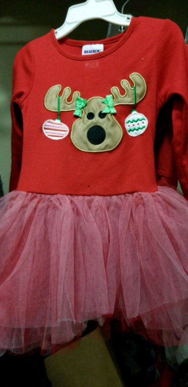 Size 4 reindeer outfit