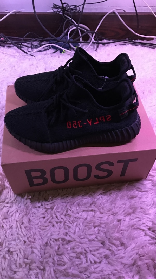8322d30b6fa5b Used Yeezy boost 350 v2 bred size 9.5 for sale in Ann Arbor - letgo