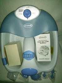 Foot Spa Heat Massager Bubble Bath Dr. Scholls