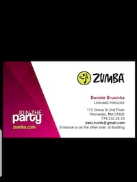 Zumba Classes Worcester