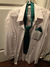 Shirt with tie size M Montreal, H1J 1G2