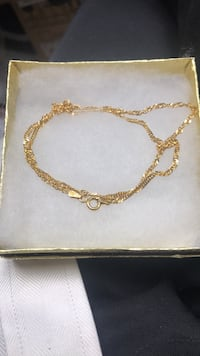 """14k over. Sterling silver necklace nice Christmas presents 18"""" Baltimore, 21215"""