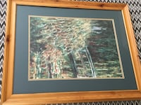 Beautiful Brown wooden framed trees painting Gainesville, 20155
