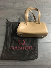 Genuine Tan Leather Bowler by Danier Leather Vancouver, V5R