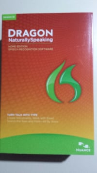 Nuance Dragon Naturally Speaking Version 12 Home E Syracuse