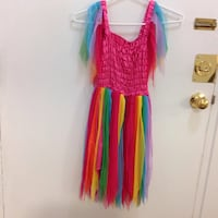 Multi coloured Halloween dress in ex co. Size 4/5 Hamilton, L8V 4K6