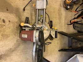Miter saw and lazer level combo