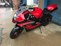 red and black Honda CBR District Heights, 20747