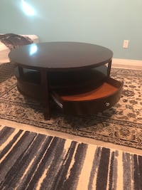 Brown wooden table Calgary, T2Z 0Z9