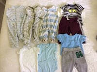 3 month baby boy clothes.  Great quality brand names. Belleville, K8P 3B6
