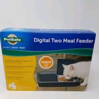 New in Box Digital Programmable 2 Meals Pet Feeder- sells for 50$ Falls Church, 22041