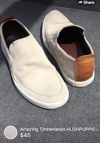 Men's Amazing Timberlands HUSHPUPPIES collection suede leather gently used  London, N5W 1E8