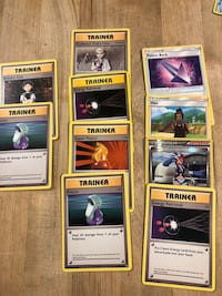 33Pokémon trading cards & 10train or cards Albany, 94706