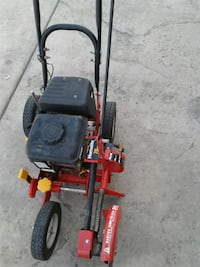 black and red HomeLite Lawn edger Corcoran
