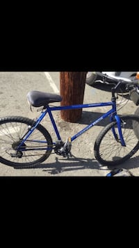 blue and black mountain bike Chula Vista, 91910