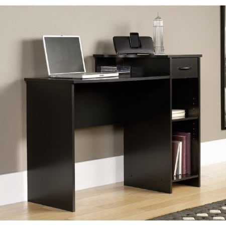 Mainstays Student Desk with Drawer, Blackwood Finish