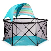 Summer Infant Pop 'N Play Ultimate Playard, Aqua Toronto