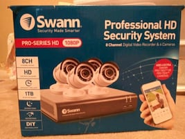 Security cameras Swann Pro-series HD 1080p