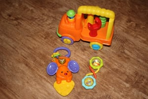 Infant Toy Trio - Like New