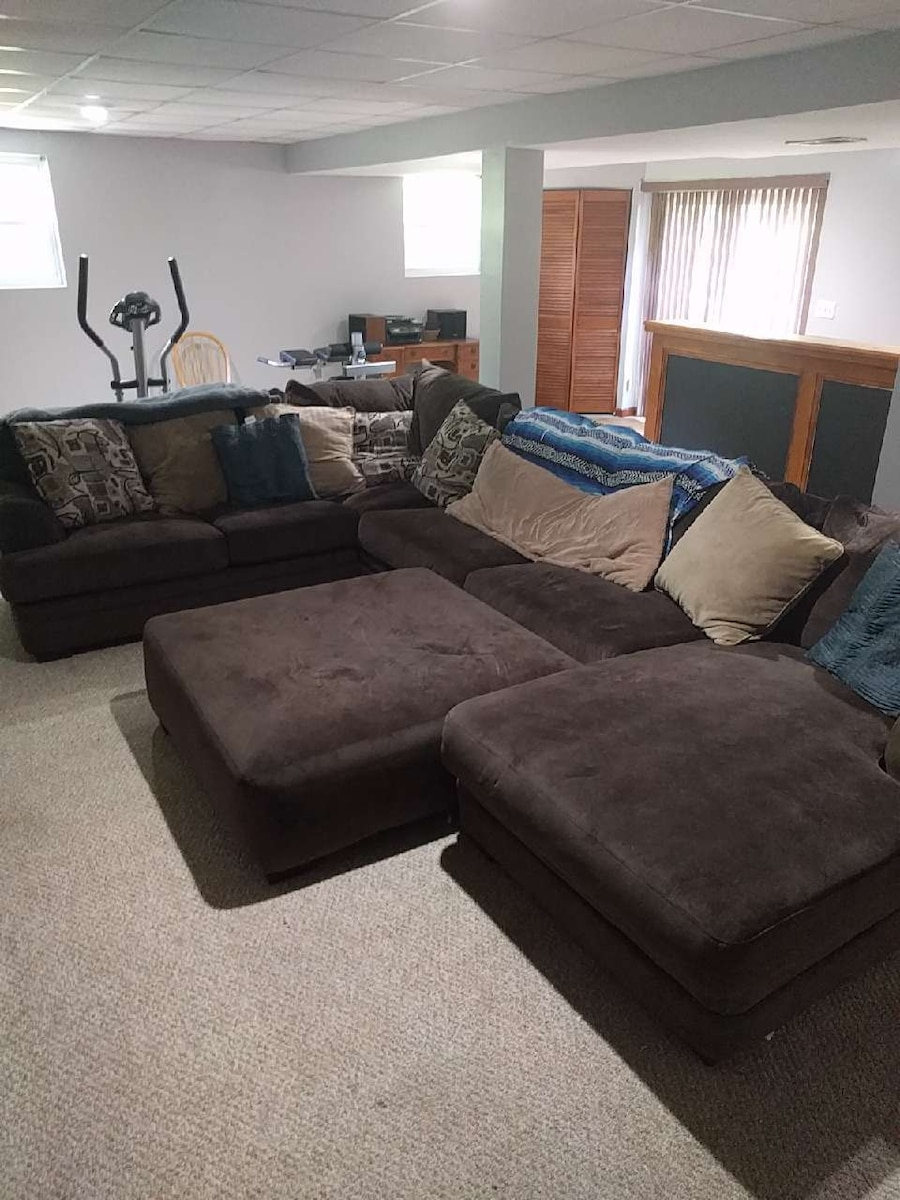 12ft By 8ft Sectional Sofa With Pull Out Bed In Arnold   Letgo