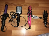 Hair straightener / curler