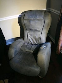 gray message chair