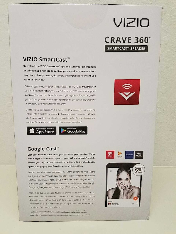 Vizio Crave 360 Smart cast wifi Bluetooth 2 1