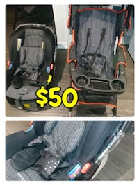 baby's black and gray jogging stroller Richmond Hill, L4S 0C3