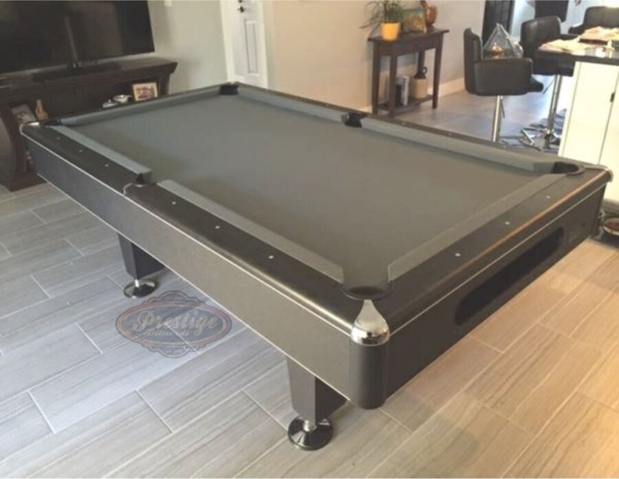Modern 7 Foot Slate Pool Table With All Accessories