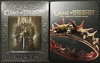 Game of Thrones - Complete First and Second Seasons - Blu-ray Hagerstown