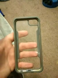gray and clear iPhone case Indiana, 15701