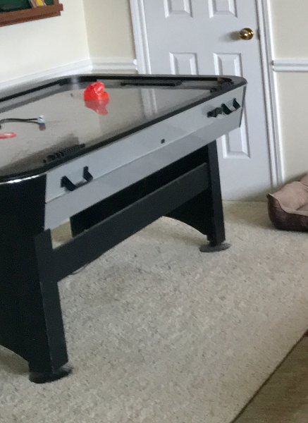 Used Ft SportCraft Turbo Air Hockey Table With Electronic Scoring - Sportcraft turbo air hockey table