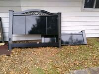 Head board king size with are hardware Levittown, 19055