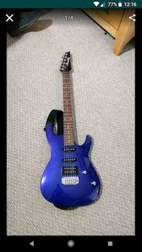 blue and brown electric guitar Woodbridge, 22193