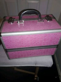 Pink nail supply organizer with all you need insid Pharr, 78577
