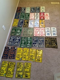 Alberta licence plates sets and singles Calgary, T2Y 3X5