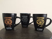 Three Colorful Coffee Cups from Puerto Rico (New) Sterling