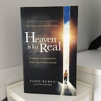 Heaven is for real novel Toronto, M5B 1G6