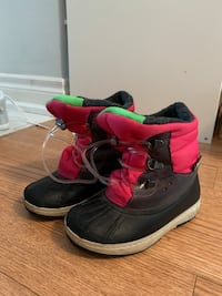 Toddler girl Boots and Shoes - Size 8