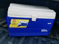Cooler camping fishing Coleman ice igloo food beer