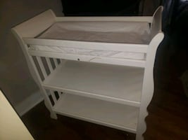 White Baby Girl or Boy Changing Table