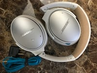 Bose qc25 limited edition white and tan noise canceling headphones. Falls Church, 22041