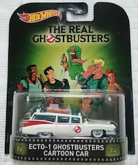 GHOSTBUSTERS ECTO 1 CARTOON CAR HOT WHEELS RETRO ENTERTAINMENT Vaughan, L4L 1V3
