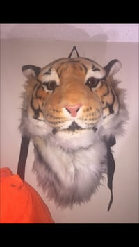 Tiger head backpack/wall mount Huntington Beach, 92647